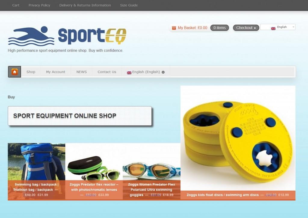 Sporteq - High performance swimming gear