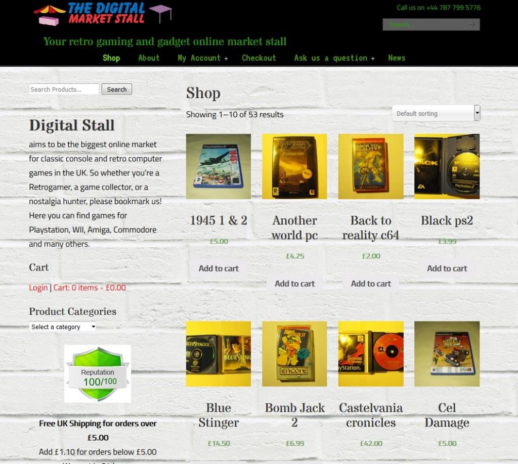 Digital Stall - retro games