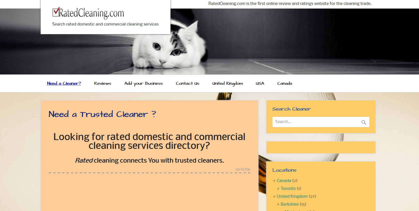 ratedcleaning.com
