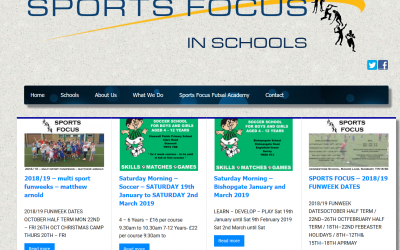 New layout for Sports Focus in Schools