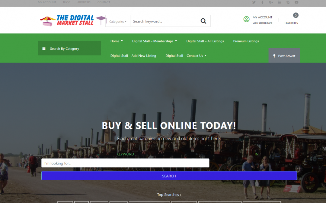 Digital Stall Market
